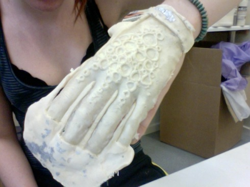 My Squid-Woman Hand